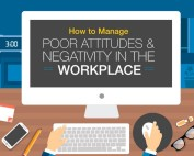 [Infographic] How to Manage Poor Attitudes and Negativity in the Workplace