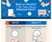 [Infographic] 7 Tall Tales About Productivity Myth or Reality