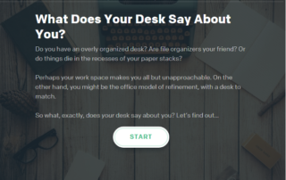 Interactive Quiz: What Does Your Desk Say About You