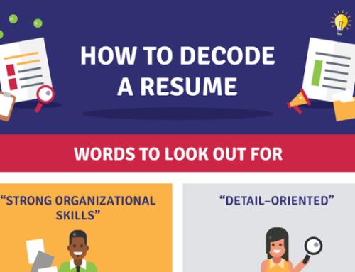 [Infographic] How to Decode a Resume – Showing Instead Of Telling