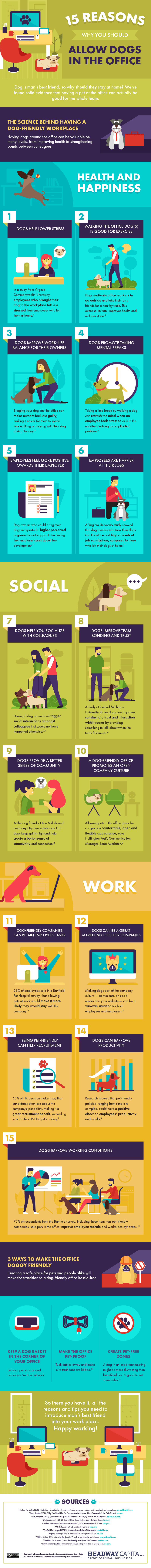 15 Reasons Why You Should Allow Dogs in the Office