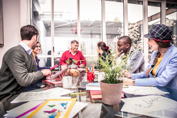 """multigenerational workforce According to a dale carnegie training employee engagement study, """" employees who feel their immediate manager displays strong leadership,  positive."""